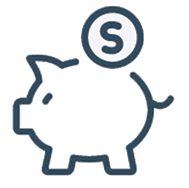 bank savings pig